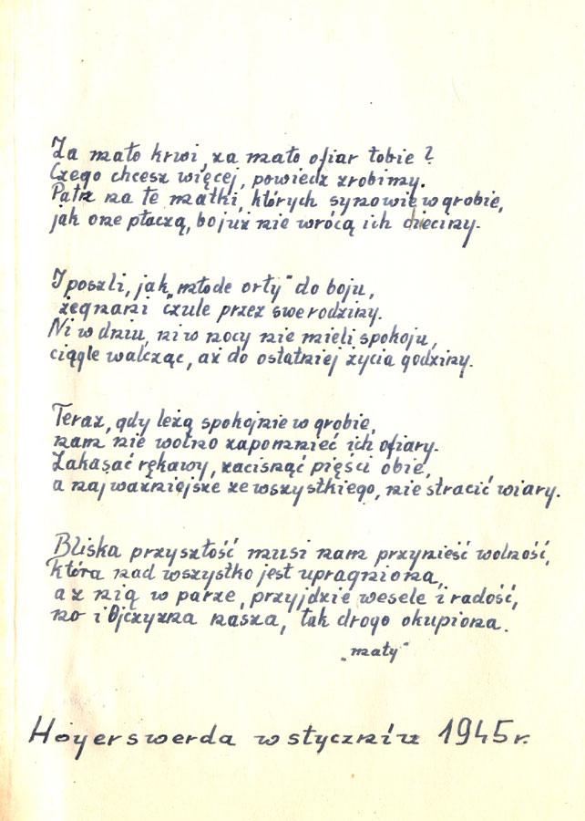 Kolekcja Dokumentów Tadeusza Wyszomirskiego Gross Rosen