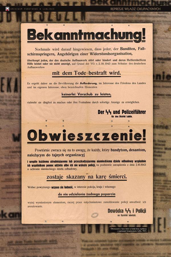 Na Ulicach I Murach Afisze I Plakaty Z Okresu Ii Wojny